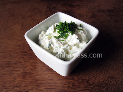 Fresh Cheese Spread with Chives