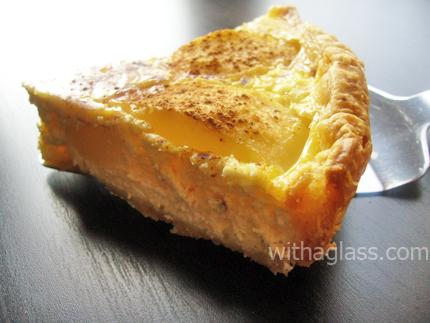 Pear and Fresh Cheese Tart