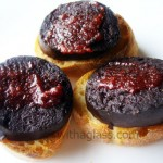 Black Pudding Toasts with Gochujang