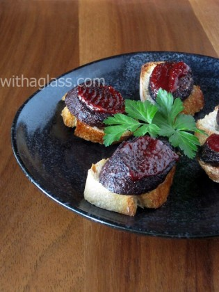 Black Pudding and Gochujang Toast