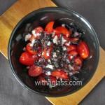 Tomato and Shiso Salad