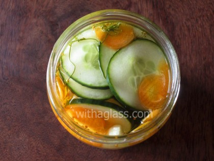 Moomins' Pickled Cucumber Salad