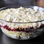 Layered Herring Salad