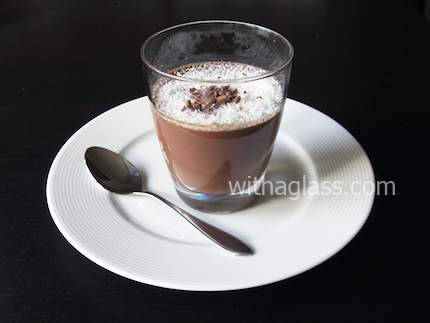 Chocolate and Coconut Cream with Agar