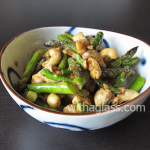 Asparagus with Cashew Nuts and Chicken