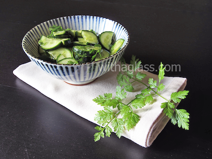 Cucumber and Chervil Salad