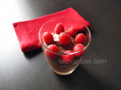 Quick Eggless Chocolate Mousse