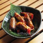 Teriyaki Pork Rolls with Shiso and Gochujang