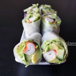 Surimi and Avocado Spring Rolls