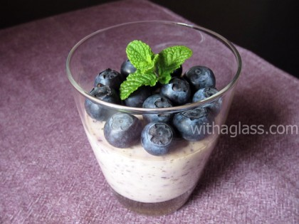 Light Blueberry Mousse