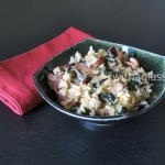 Shiso and Bacon Fried Rice
