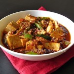 Mapo Dofu (Ma pou do fu, Mapo Tofu) for One