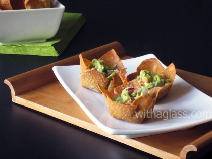 Wonton Cups (Edible Snack Containers)