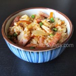 Fried Rice with Kimchi and Bacon
