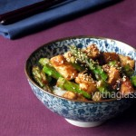 Asparagus with Chicken and Miso