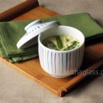 Chawan Mushi (Egg Custard) with Asparagus