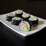 Maki with Shrimp, Avocado and Cucumber