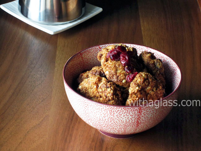 ANZAC Biscuits with Dried Cranberry