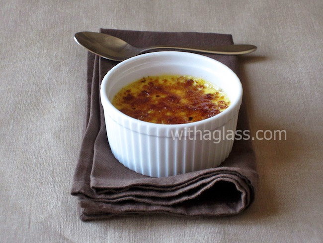 Light Crème Brûlée (Light Burnt Cream)