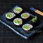 Asparagus Maki Sushi