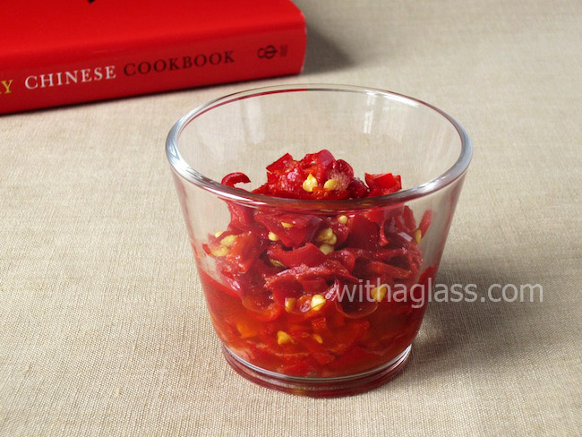 Hunan Salt-Pickled Chopped Chilli Peppers, or Accidental Erős Pista