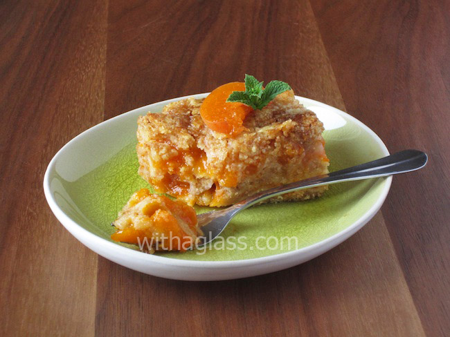 Easiest Apricot Cake Without Eggs