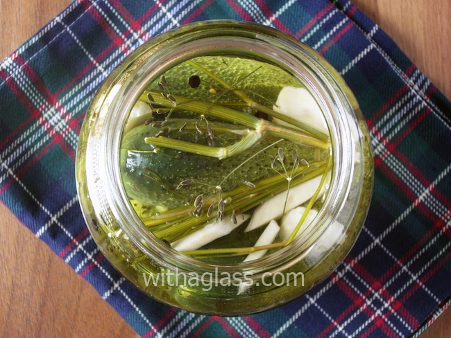 Pickled Dill Cucumbers and Pickled Cucumber Salad