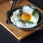 Rice, Asparagus and Fried Egg
