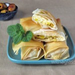 Filo Rolls with Feta and Leek