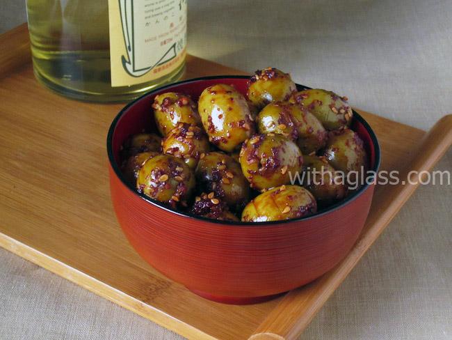 Korean Style Seasoned Olives