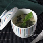Chawan Mushi with Chicken and Thai Basil (Horapha)