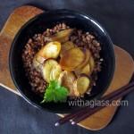 Eringi and Buckwheat Groats