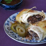 Filo Rolls with Black Pudding