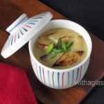 Chawan Mushi with Grilled Enringi (King Oyster Mushroom)