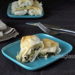 Mock Spanakopita Rolls with Wild Garlic