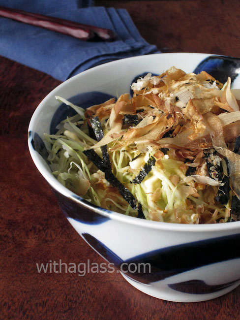 Japanese Shredded Cabbage Salad