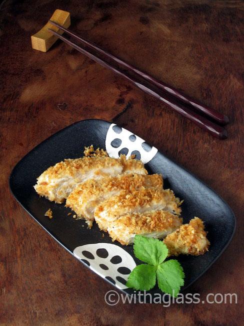 Eazy Lazy Eggless Chicken Katsu