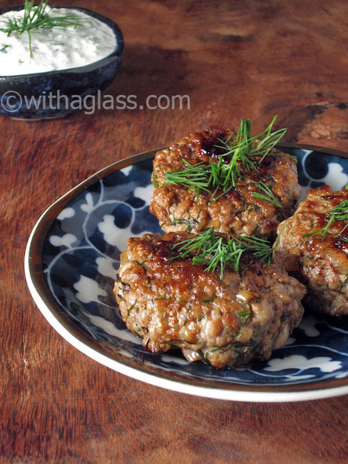 Meat Patties with Dill