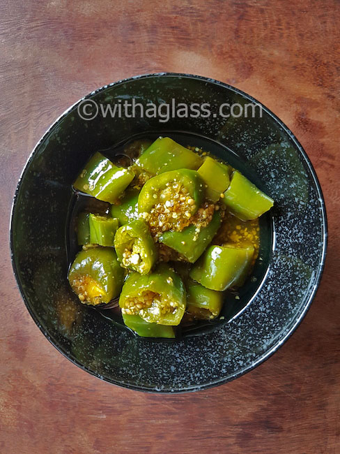 Indian Short-Term Fridge Chilli Pickles