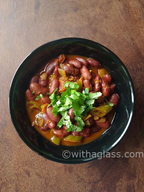 Kidney Bean Curry Stew