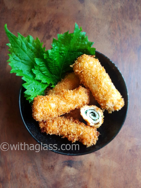 Breaded Pork and Shiso Rolls