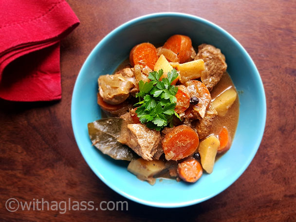 Pork Stew with Allspice